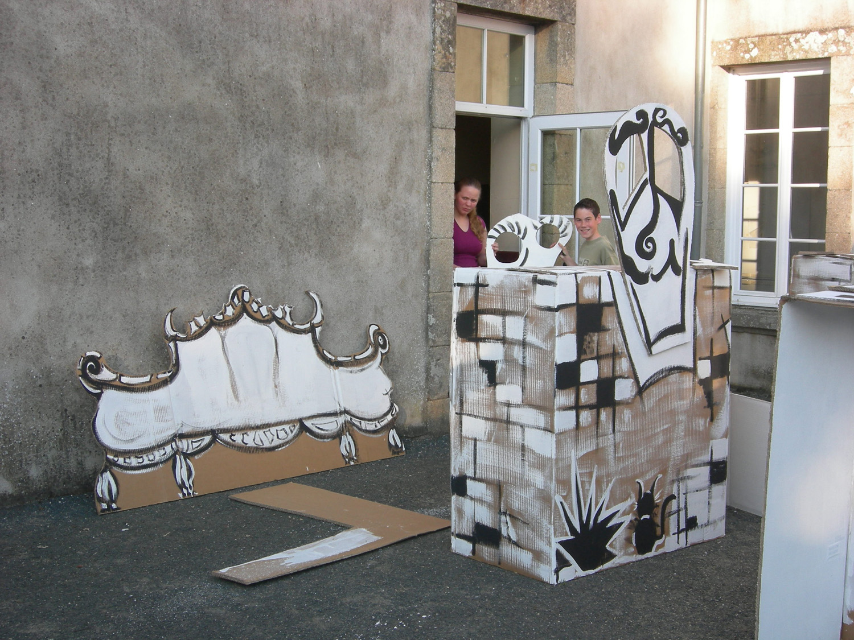 Sensibiliser et former en peintures d cor et sc nographie for Decor de theatre