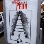affichée dans le quartier du Breil-Barberie, Nantes.