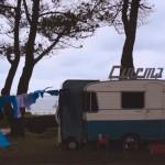 Conception et réalisation de la transformation d'une caravane en un cinéma 4 places pour Benjamin Minorette.